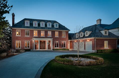 14,000 Square Foot Newly Built Brick Mansion In Toronto