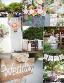 Shabby chic outdoor backyard wedding ideas 2014 trends