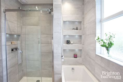 family bathroom design ideas soft grey family bathroom with recessing hove the