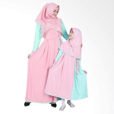 Gamis Abaya Maxi Syari Ibu Dan Anak Flowy Willyna jual baju gamis model terbaru harga menarik blibli