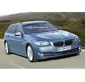 Rendered 2011 BMW 5 Series Touring