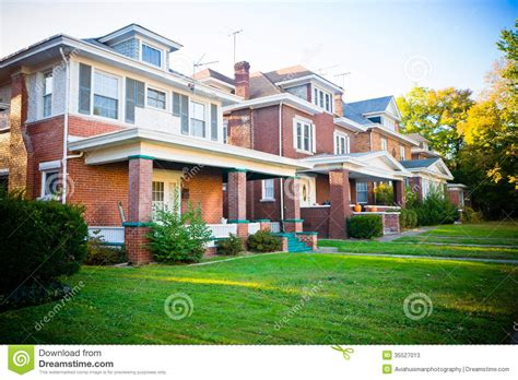 House Plans With Covered Porch Typical Family Homes Stock Photos Image 35527013
