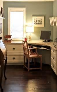 custom home office design ideas custom built in desk granite work top martha stewart quot arrowroot quot paint ikea shelving vintage
