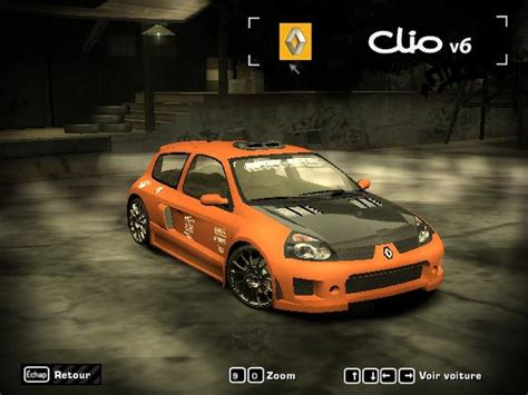 renault clio v6 nfs carbon renault clio v6 need for speed most wanted rides nfscars