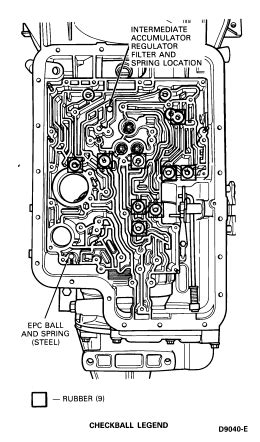 4r100 valve diagram 93 e150 4 9 e4od seems like tcc engages in drive and