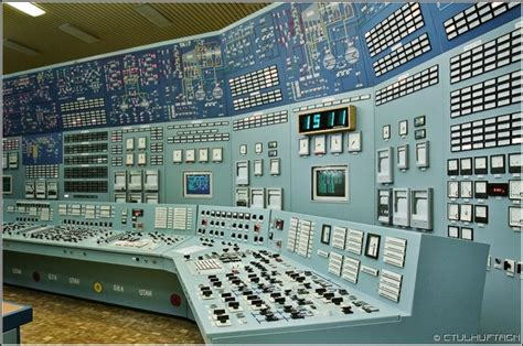 Plant Controller by Nuclear Plant Room Nuclear