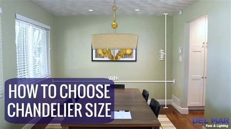 How to choose the right chandelier size youtube