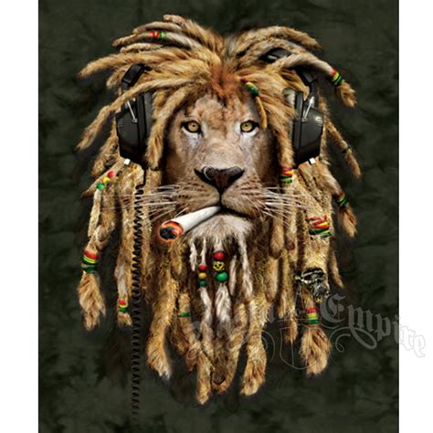 Hippie Curtains Rasta Lion Luxury Blanket Rastaempire Com