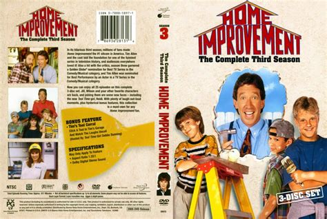 home improvement season 3 dvd scanned covers