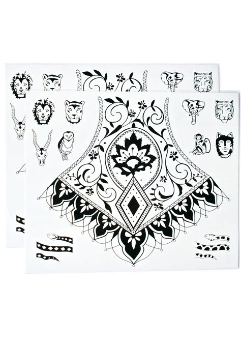 primal instinct tattoo primal instincts temporary tattoos dolls kill