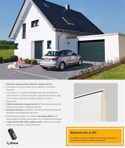 portone sezionale garage portone sezionale da garage hormann renomatic 2018