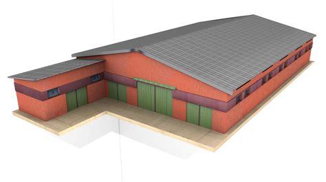 Modern Ls by Modern Piggery Barn V1 For Fs2015 Farming Simulator 2017 2015 15 17 Ls Mod