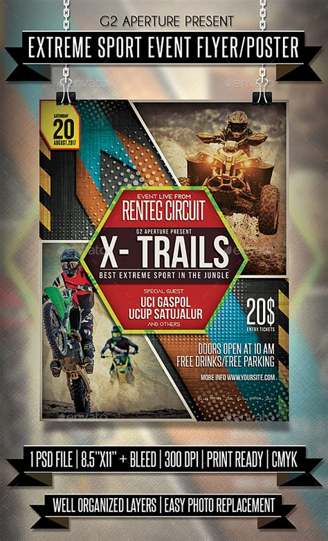 sports event flyer template sport event flyer poster by martini50s