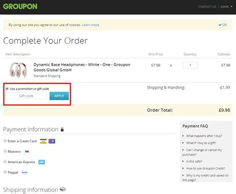 How To Use Groupon Gift Card - groupon promotion or gift code 2017 lamoureph blog