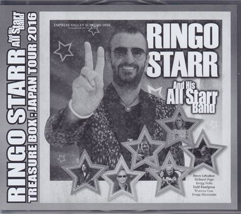 ringo starr japan ringo starr his fourth all starr band treasure box japan