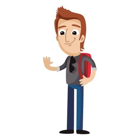 imagenes png estudiantes dibujo animado del estudiante masculino descargar png