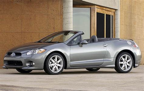 Used 2007 Mitsubishi Eclipse Spyder Convertible Pricing