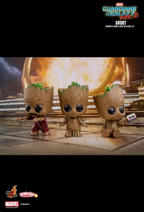 Cosbaby 360 Groot Set Of 3 Guardian Of The Galaxy Vol 2 Toys toys guardians of the galaxy vol 2 groot cosbaby