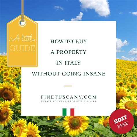 buying a house in italy costs free online guide to buying a property in italy finetuscany com