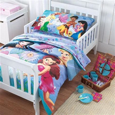tinkerbell toddler bed set complete tinkerbell bedding kit wantster