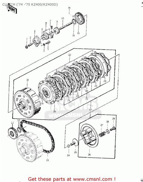 Kz400 Parts Diagram