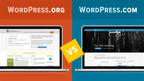blogger vs blogspot wordpress com vs wordpress org youtube