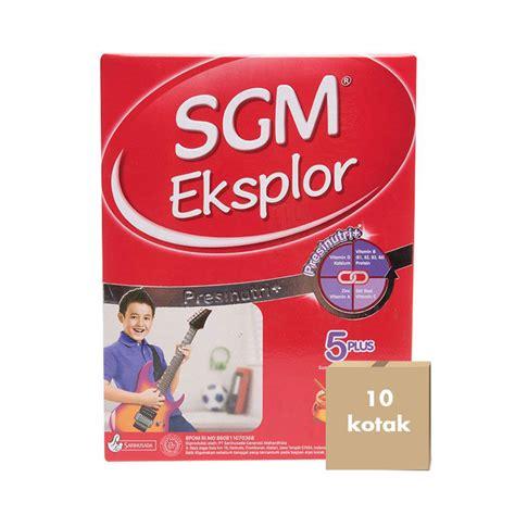 Sgm Eksplor 5 Plus Jual Sgm Eksplor 5plus Madu 900 G Karton 10 Kotak Prosehat