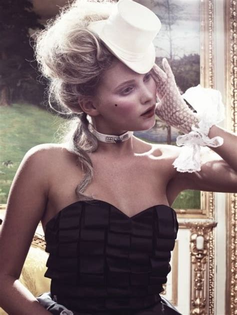 18th century black smith hair 18th century inspired fashion editorial celia