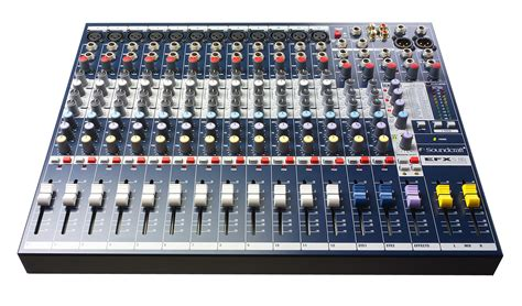 Mixer Audio 2 Channel soundcraft efx12 audio mixer 12 2 channels