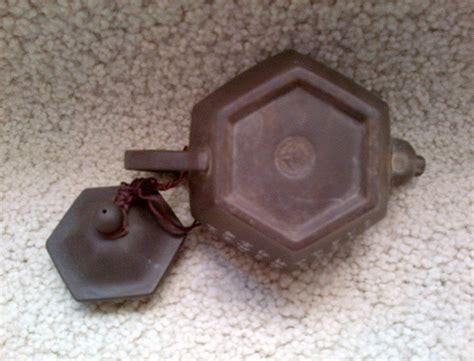Pajangan Air Segi karya babah antik teko terakota yixing teapot