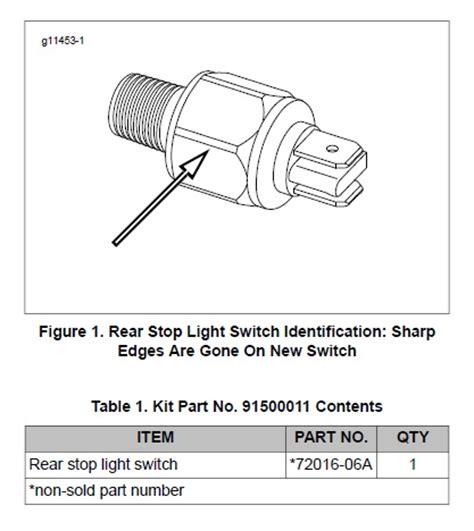 harley davidson rear brake light switch recall brake switch recall page 2 harley davidson forums