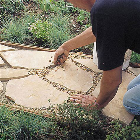Installing A Flagstone Patio by Step 6 How To Install A Flagstone Path Sunset