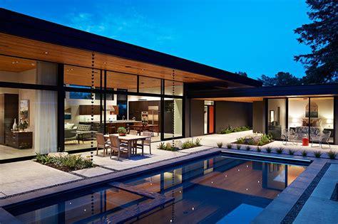 glass wall house custom design meets eichler inspired
