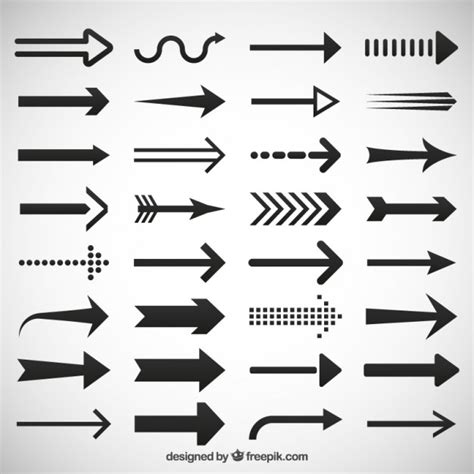 free 2 shape arrows vector psd titanui arrow vectors photos and psd files free download