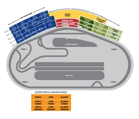 daytona speedway seating diagram daytona international speedway packages daytona seating