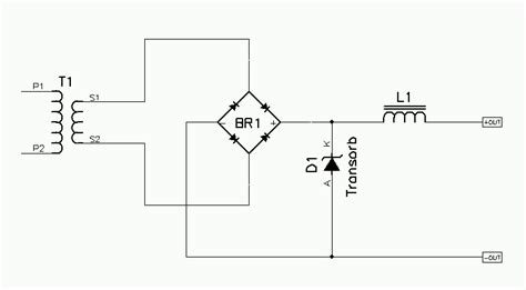transorb diode voltage protector circuit diagram voltage free engine image for user manual