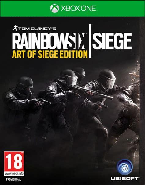 siege xbox one tom clancy s rainbow six siege of siege edition xbox