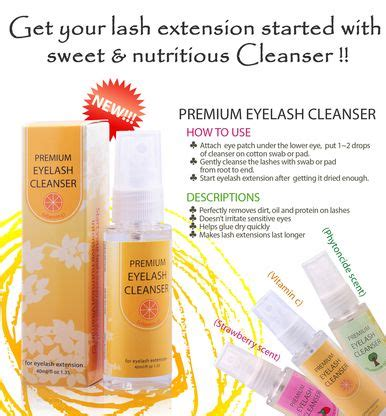 Navina Cleanserlash Protein 142 best images about eyelashes on eyelash conditioner cleanser and eyelash extensions