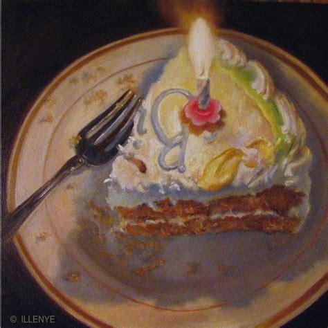 birthday painting jeanne illenye still lifes happy birthday to me