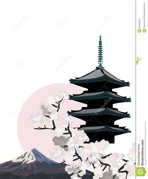japanese pagoda stock images image 21904554