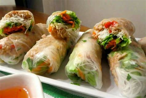 How To Make Chicken Rice Paper Rolls - thai chicken rice paper rolls rice paper wraps