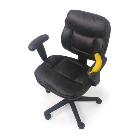 Stuffed Chairs by 86 Plush Faux Leather Office Chair Chairs