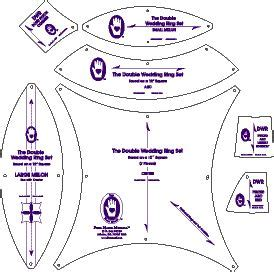 wedding ring quilt pattern templates 25 best ideas about wedding ring quilt on