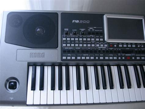 Keyboard Korg Pa900 Baru korg pa900 image 763140 audiofanzine
