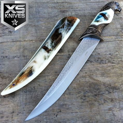 decorative knives 13 quot collectors eagle head dagger hunting knife with