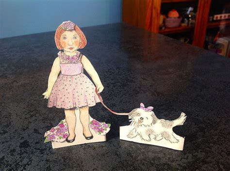 How To Make Doll From Paper - how to make paper dolls at home
