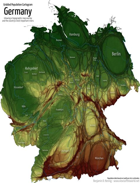 topographic map germany germany topographic map