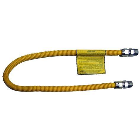 Fip Connection Plumbing by 60 Quot Brasscraft 3 4 Quot Mip X 1 2 Quot Fip Gas Connector