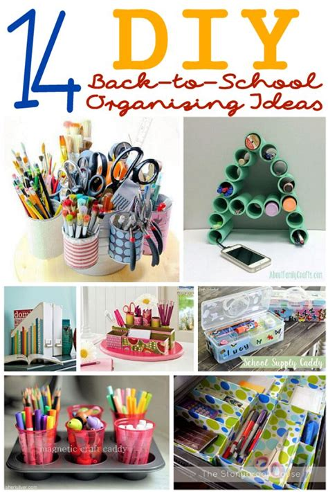 ideas for school 14 diy organizing ideas for back to school about family