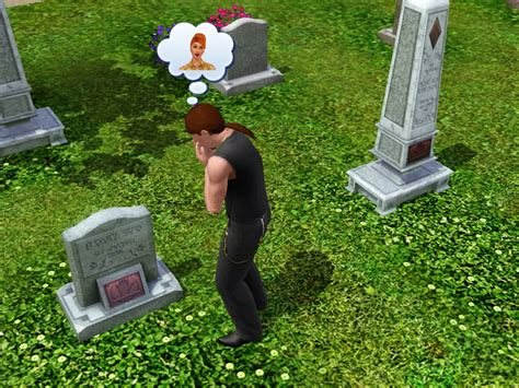 at grave gravestone the sims wiki